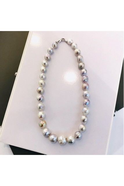 necklace big size pearl